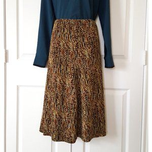Women's Plus A-Line Elastic Waist Skirt, NWT